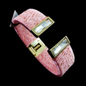 White House Black Market Cuff Bracelet Pink